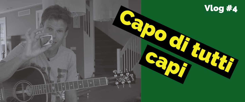 Sixstrings gitaarles capo