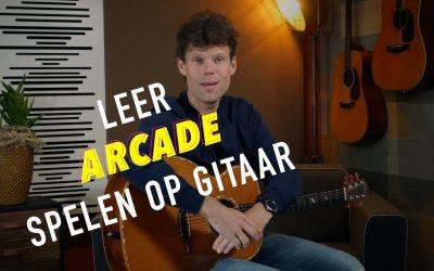 Leer Arcade van Duncan Laurence spelen op jouw gitaar